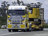 2012 Freightliner Argosy (Paul Leader - All Rights Reserved) Tags: nswbs72wy truckoversize freightlinerargosy olympus australia nsw newsouthwales vehicle truck australianroadtransport roadtransport road haulage australiantrucks aussietrucks roadfreight primemover lorry coe cabover yellow
