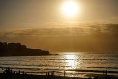 First sunrise of 2018, Sydney Australia (Macro Focus) Tags: newsouthwales bondibeach ocean water beach morning newyear'sday australia sydney sunrise