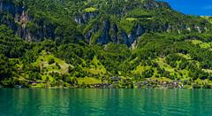 Bauen-pano-2 (Mel Gray) Tags: lakelucerne bauen switzerland scenic scenicview travel boattrip