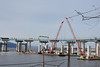 Picture Taken From The Riverwalk Trail Just South Of Old Tappan Zee Bridge/New Mario M Cuomo Bridge. Demolition Of The Old Tappan Zee Bridge Began Tuesday October 10, 2017. You Can See Part Of The Westchester Landing Has Already Been Removed Right Side (ses7) Tags: new tappan zee bridgeny construction phase continues