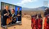 MAXISCREEN (@LuPe) Tags: berlusconi campagnaelettorale elezioni 2018 migranti megaschermi tv tribù africa