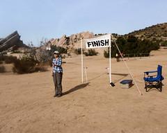 044 A Selfie At The Finish (saschmitz_earthlink_net) Tags: 2018 california orienteering vasquezrocks aguadulce losangelescounty laoc losangelesorienteeringclub