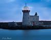 Week 1 of 52 Howth harbour light. (Leo Bissett) Tags: lighthouse light beacon pier harbour water port howth dublin longexposure
