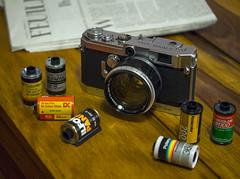 Canon Model VT de luxe with LTM 1.2 50mm (Kemal Tarik Yolcu) Tags: canon modelvt deluxe ltm 12 50mm