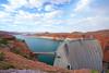 Lake Powell & Glen Canyon Dam, Arizona, USA (Andrey Sulitskiy) Tags: usa arizona lakepowell page
