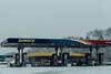 Sunoco (David Stebbing) Tags: color snow flickr street