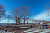 liberty state park, parking lot-02945 (Visual Thinking (by Terry McKenna)) Tags: statue liberty libertystatepark ellis island