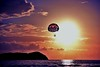 When sky is the limit (Rupam Das) Tags: nikon nikkor d810 24120mm parasailing sky sun twilight cloud spectacular colorful costarica evening travel pleasing explore flight flying fantasy water ocean sunset beach