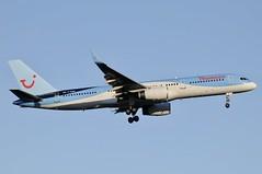 G-OOBH (LIAM J McMANUS - Manchester Airport Photostream) Tags: goobh thomsonairways thomson tom by worldoftui boeing b757 b752 752 boeing757 boeing757200 manchester man egcc