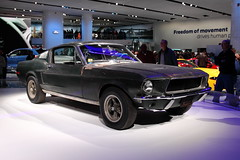 Bullitt Mustangs (2) (RichKD) Tags: naias 2018 car auto automobile style show motor vehicle canon mark5 detroit bullitt mustang 2019 original movie steve mcqueen