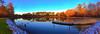 Shepard Pond January 2018 evening (emj1300) Tags: pond peace matthewjeffres meditation georgia shepardpond blue sunset winter southeast golden gold fishing dock tree trees treasure