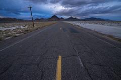 Rift (JasonCameron) Tags: west desert utah road drive cloud storm sky mountain cracks crack line