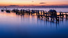 Dawn at the dock on the Indian River (Ed Rosack) Tags: olympus highres calm riverscape dawn hires ©edrosack florida titusville river cloud buildingandarchitecture reflection sky centralflorida water dock usa landscape cloudy