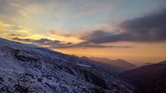 Snow ♥ Sun (Raquel Borrrero) Tags: sunset sunlight mountain snow sierranevada granada andalucía nieve montaña atardecer puestadesol