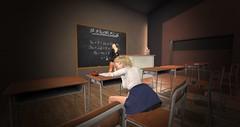 cosplay067 (Liruu) Tags: secondlife anime m3 cosplay teacher schooluniform doze