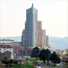Student Accommodation on a grey day! (PAUL YORKE-DUNNE) Tags: beckleypoint studentaccommodation newbuild plymouth devon