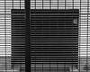View Through the Grid (that_damn_duck) Tags: blackwhite monochrome underground grid bw blackandwhite