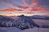 Oasi Zegna (Simone Xausa) Tags: bielmonte oasizegna panoramicazegna neve tramonto argimonia montemassaro biella biellese valsessera pini nuvole nebbia