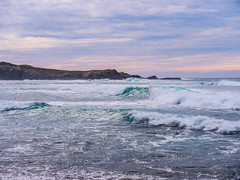 Large Aqua Waves at Isolated Black Point Beach in Sonoma, California (Seymour Lu) Tags: aquamarine panasonic trace california winter windy nature landscape surf crash isolation blue aqua water beach sea searanch waves ocean
