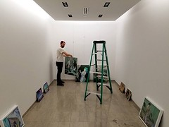 Super excited about installing my show at the Blue Sky gallery! Starting tomorrow, snow permitting! 😀️ #painting #gallery #arthandler #contemporaryart #contemporarypainting #artshow #artgallery (Emanuele Pavarotti) Tags: instagram new york usa iphone4s