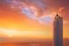 Faro de Gorliz (Mimadeo) Tags: lighthouse sunset clouds sky sea coast gorliz plencia plentzia basquecountry paisvasco euskadi vizcaya bizkaia spain landscape red orange villano billano cabo beautiful dramatic