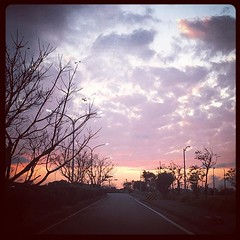 暮色粉紫 (Damien HUANG) Tags: instagram