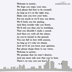 Welcome to society... (tjetjev_gorbatjev@yahoo.co.id) Tags: change fitnessmotivation coffee cafè keepfighting pictures quotes life quote inspired opportunity bepatient hustle keepalive motivational thought motivated happiness live chances nevergiveup blessings poems introvert love dontgiveup inspirational poets thankfulness travel