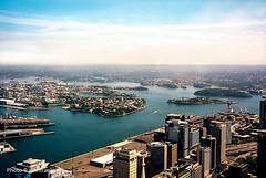 Sydney Bay-Australia (johnfranky_t) Tags: johnfranky t sydney australia baia bay isolotti sud pacifico fe nikon porto harbour gru