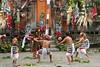 Spettacolo danza Barong (chiara7171) Tags: bali baromg coltelli danze tradizionali
