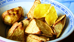 Air fryer cooking (Sandy Austin) Tags: panasoniclumixdmcfz70 sandyaustin westauckland auckland northisland newzealand kumara sweetpotato wedges airfryer airoven cooking