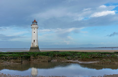 the perch (paul hitchmough photography 2) Tags: lighthouse perchrock sjy clouds beachphotography landscape water rivermersey paulhitchmoughphotography nikond800 nifftyfitty 50mm ha