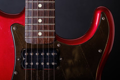 Custom Fender (Pierrexp2) Tags: fender guitar strings music frets fretboard instrument red electricguitar maple pickup studio screws solo