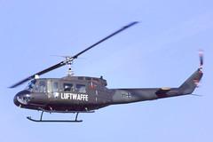 UH-1D Luftwaffe (Rob Schleiffert) Tags: valkenburg bell uh1 huey germanairforce luftwaffe hyg64