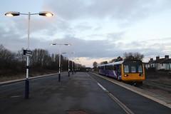 142084 Eaglescliffe, Teeside (Paul Emma) Tags: uk england teeside eaglescliffe railway railroad dieseltrain train 14208