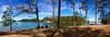 Sunday at the Lake (StephenReed) Tags: sundayatthelake lakelanier buforddam hallcounty georgia island picnic panorama iphone5s stephenreed