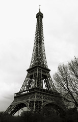 Paris (mariahibou) Tags: paris black white noir blanc trip voyage eiffel tower