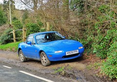 Mazda Roadster (grassrootsgroundswell) Tags: mazda mazdaeunosroadster mazdaroadster classiccar classicjapanesecar