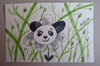 défi dessin jour 3: fleur