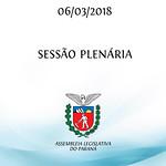 Sessão Plenária 06/03/2018