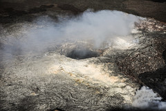 Pu'u 'Ō'ō  Vent Area (wyojones) Tags: hawaiivolcanoesnationalpark hawaii bigisland maunaloa pu'u'ō'ō kīlaueavolcanoseastriftzone kilauea smoke volcanology volcano lavaflow lava basalt geology volcanicvents wyojones np