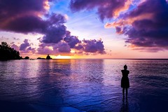 Every Sunset Brings The Promise Of A New Dawn - Ralph Waldo Emerson -