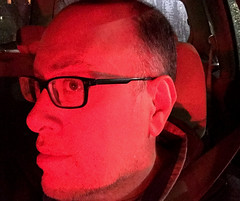 Day 2200: Day 10: Red (knoopie) Tags: 2018 january iphone picturemail red doug knoop knoopie me selfportrait 365days 365daysyear7 year7 365more day2220 day10