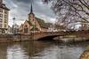 strasbourg (Tony_Brasier) Tags: raw river road church nikon fun fishing trees buildings bluesky bridge flickr 1750mm sigma d7200