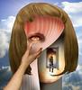 Paths and shortcuts (jaci XIII) Tags: veredas atalhos porta surrealismo pessoa fantasia cortina mão doorway door surrealism person fantasy curtain hand