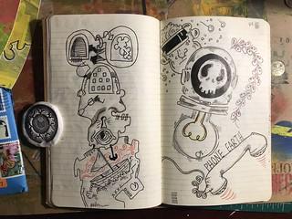 More Moleskine drawings.... #art #moleskine #journal #draw #sketch