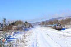 Tempête de neige en approche (Lion de Belfort) Tags: cc 72100 72121 corail intercités sncf nez cassé ligne 4 l4 poteaux télégraphiques champagney neige hiver en voyage