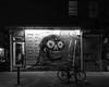 3405 Love / Leave Me Alone (JoelZimmer) Tags: 24mmf28 bicycle blackandwhite lowereastside manhattan newyork nikond750 streetartgraffiti