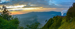 ... volcanic landscape in the first morning light ... (wolli s) Tags: batoc bromo indonesia indonesien java semeru sonnenaufgang vulcano vulkan landscape sky smoke sunrise timur volcanic volcaniclandscape volcano puspo jawatimur id nikon d7100 panorama cof011dmnq cof011chon