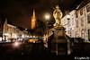 A night in Bruges (15) (Lцdо\/іс) Tags: brugge bruges belgique belgium belgie belgian visit city citytrip decembre 2017 voyage awesome night nightcity flickrexploreme statue saint joannes nepomucenus ville romantic promenade nuit lampadaire lampes lights