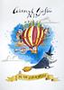 A por el carnaval!!! (Nuria Domínguez) Tags: ilustración ilustration dibujo drawing draw globo carnaval bruja princesa pirata lobo indio sky witch princess pirate indian wolf children niños acuarela watercolor color